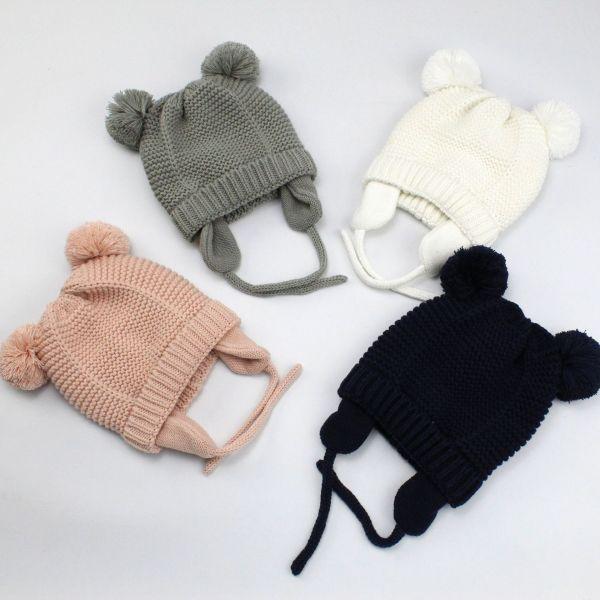 Bonnet d'hiver pour enfants protège-oreilles
