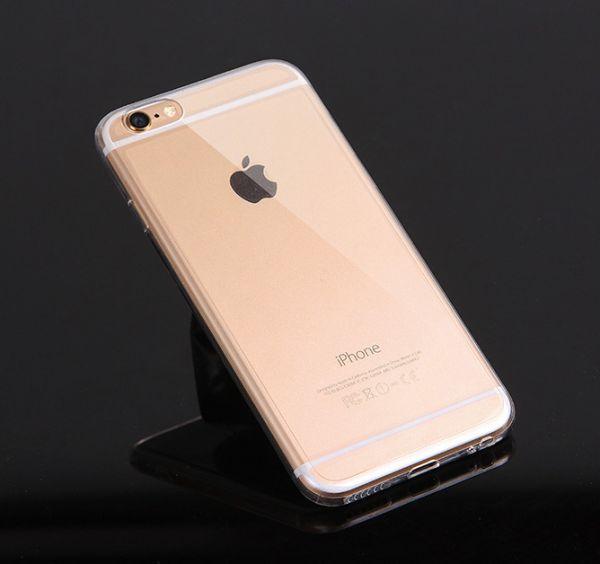 coque iphone 6 ou 6 plus argent noir ou or uni acip023 01