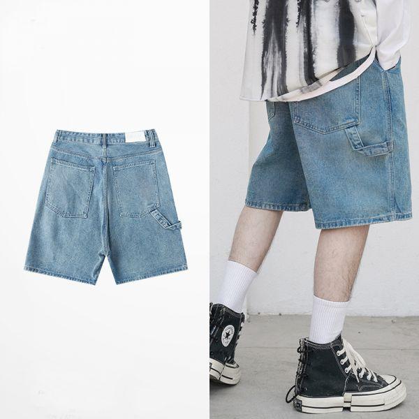 Short Jean baggy classic pour homme