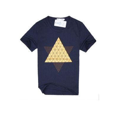 T Shirt Homme Manches Courtes Design Pyramide