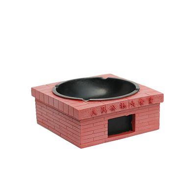 Cendrier classique et design avec apparence briques