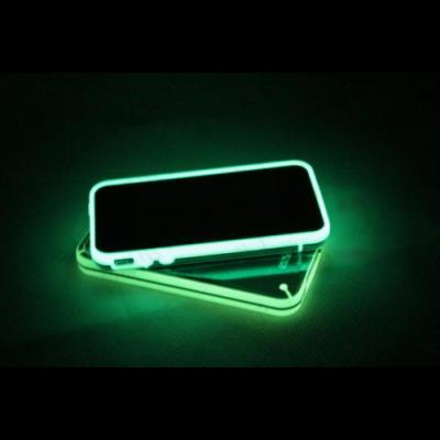 Coque iPhone 4 4S étui plastique lumineux fluorescent dans le noir