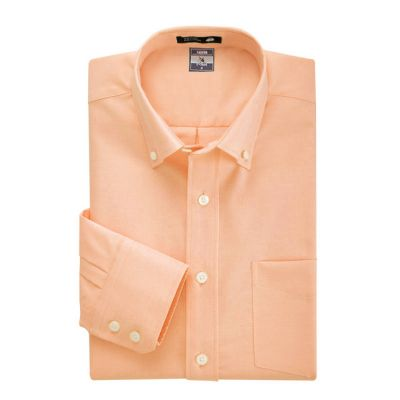 Chemise bureau ou casual couleurs chaudes – jaune orange ou rose