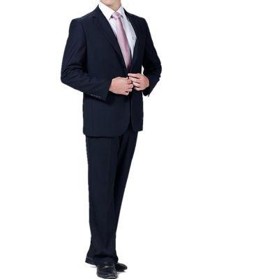 Ensemble costume bureau veste et pantalon – bleu marine