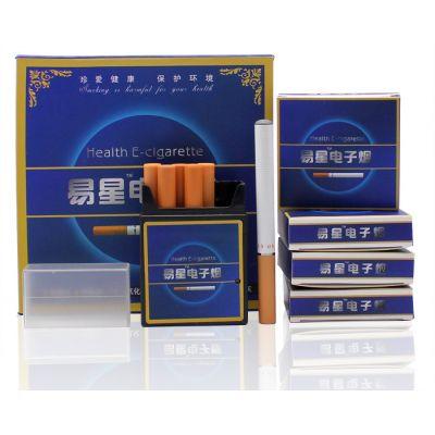 Cigarette éléctronique avec 12 recharges atomiseur et chargeur prise