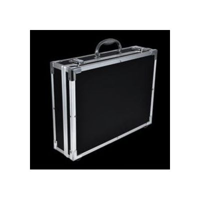 Flight case pour micro equipment home studio – noire