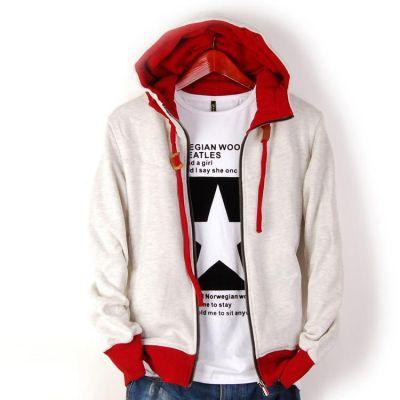 Veste a capuche classique hip hop avec manches et capuche colores