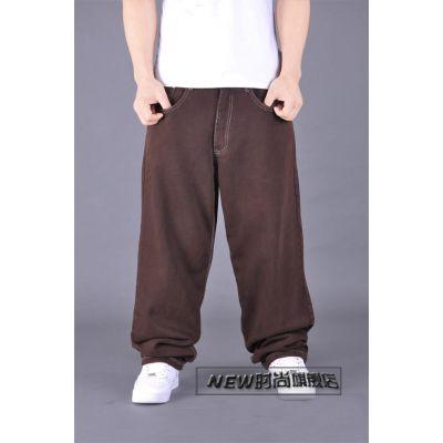 Jean baggy en toile style cargo pantalon street wear