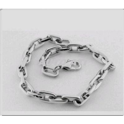 Bracelet en titane avec mailles epaisses - 21 cm