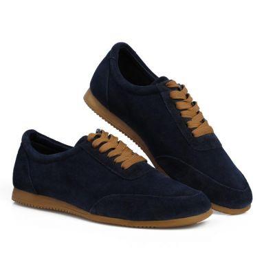 Chaussures de ville en daim style sport old school