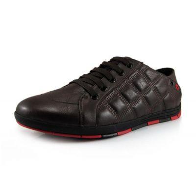 Chaussures de ville relax avec motif en relief sur les cotes