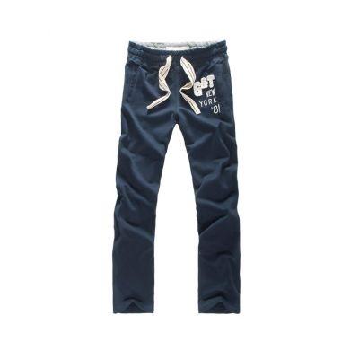 Pantalon survetement en moleton avec logo G&T New York