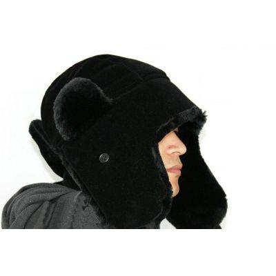 Chapeau russe soviétique chapka avec protection oreilles