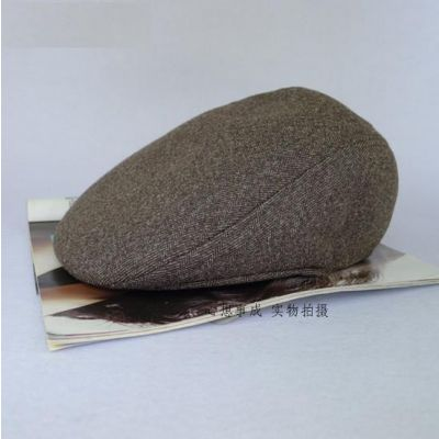 Beret old school type Kangol hat en toile