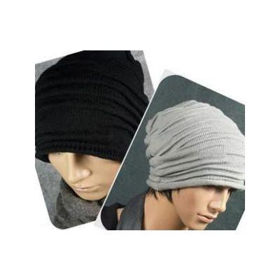 Bonnet extra large type afro avec design baggy