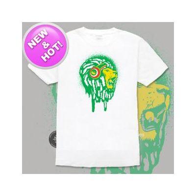T Shirt Lion of Judah avec dreadlocks roots