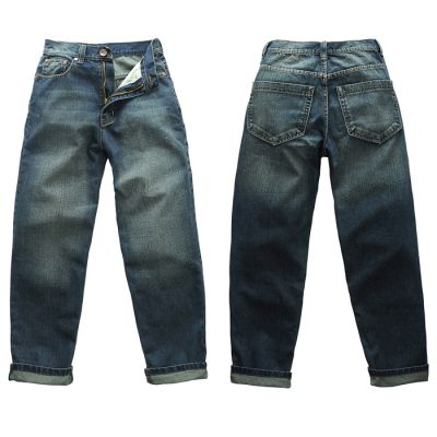 Jeans baggy hip hop streetwear effet délavé classique