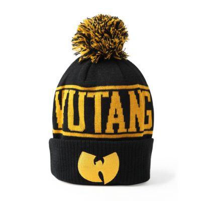Bonnet à Pompom Wu Tang Clan Batman Jaune Noir Rouge