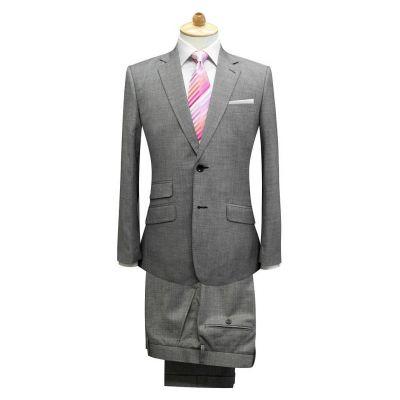 Costume sur mesure pour homme cintré double poches - blend laine 50%