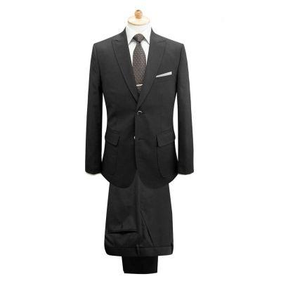Costume sur mesure pour homme classique poche poitrine - blend laine 50%