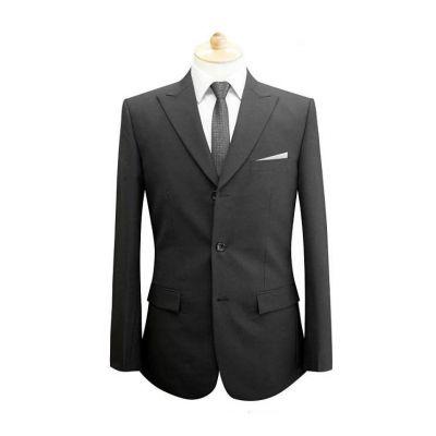 Costume sur mesure homme droit poche poitrine - 100% laine