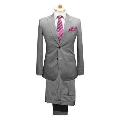 Costume sur mesure pour homme cintré poche poitrine - blend laine 50%