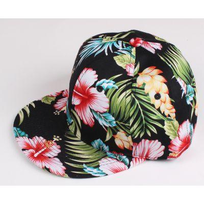 Casquette Snapback à Fleurs Motif Fleuri Streetwear
