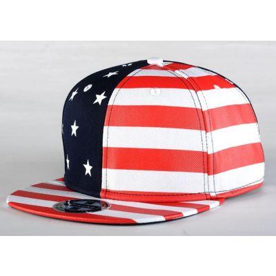 Casquette Snapback Drapeau US Américain Stars & Stripes