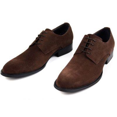 Chaussures Derby Classiques en Daim pour Homme