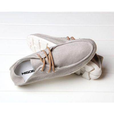 Chaussures en toile vintage Homme Mode Eté Pastel