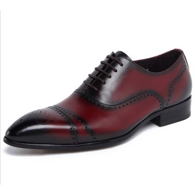 Chaussures Richelieu en Cuir pour Homme avec Perforations