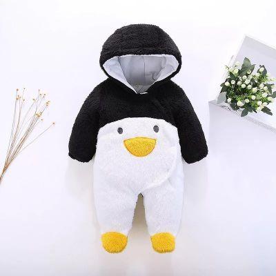 Combinaison pingouin pour bébé animal panda hiver pour enfant