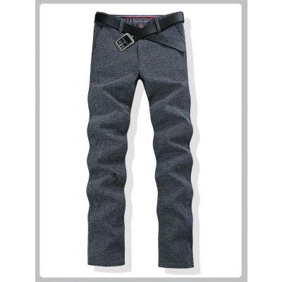Pantalon tweed pour homme effet vintage coupe classique