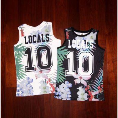Débardeur à fleurs pour Femme Locals Effet Basketball