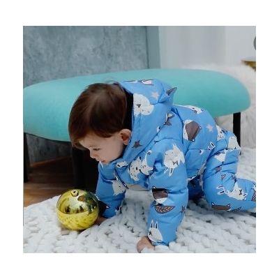 Ensemble doudoune manteau et salopette pour bébé garçon ou fille