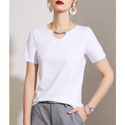 Tee-shirt bijou pour femme