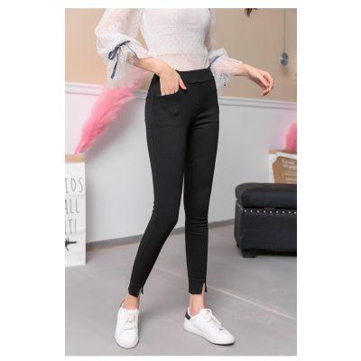Legging pour femme taille élastique coupe slim