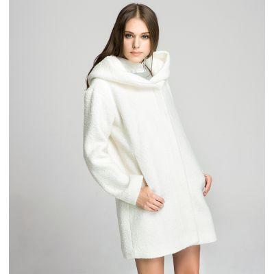Manteau Capuche Oversize pour Femme avec Poches Ventrales
