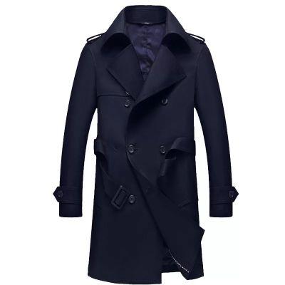 Manteau Trench Pardessus pour Homme à double boutonnage