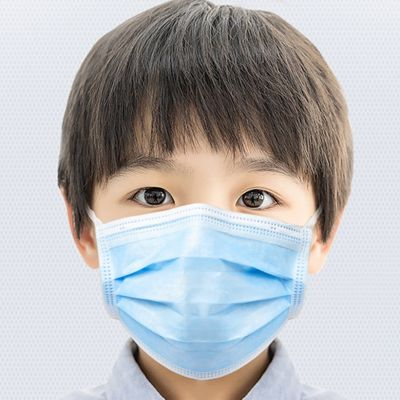 Masques chirurgicaux enfant protection COVID-19 respiratoire (Pack de 50)