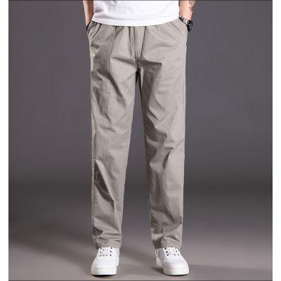 Pantalon cargo en coton baggy pour homme