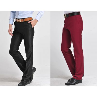 Pantalon de Costume Fashion Homme Business Casual