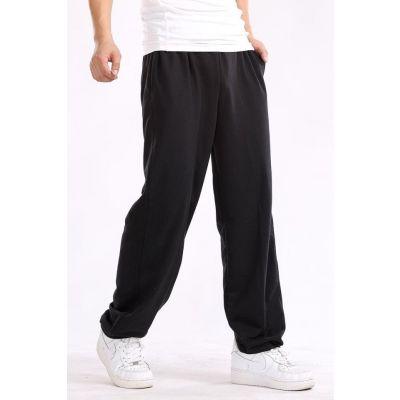 Jogging Pantalon de sport pour hommes large ceinture élastiquée