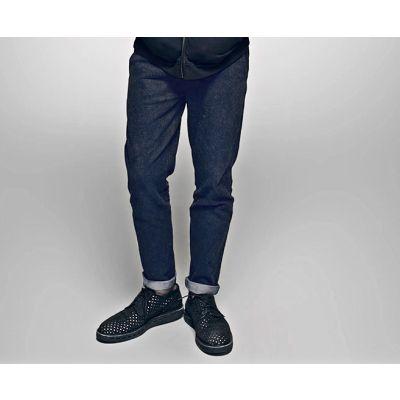 Pantalon Jeans pour Homme Coupe Droite Effet Vintage