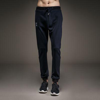 Pantalon Jogger Homme en Coton Elastique Cheville Coton