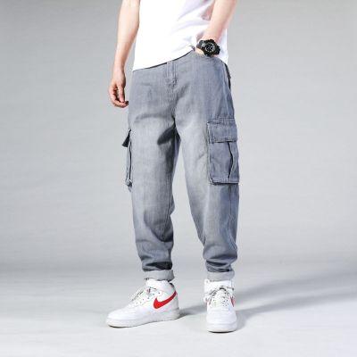 Pantalon Jogger pants cargo avec grosses poches côtés