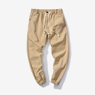 Pantalon jogger pants ceinture élastique pour homme avec logo brodé