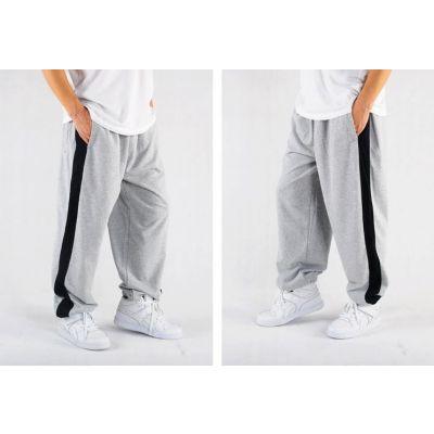 Pantalon Jogging Survêtement avec Bande noire unie côté