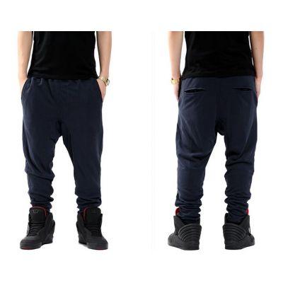 Pantalon Sarouel Bas de Jogging Large S XXXL Coton Molleton