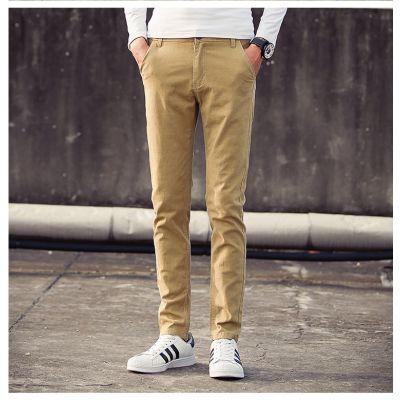 Pantalon Slim pour homme en coton